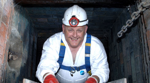 "Martin Wall, London Sewer supervisor, aka ""senior flusher"""
