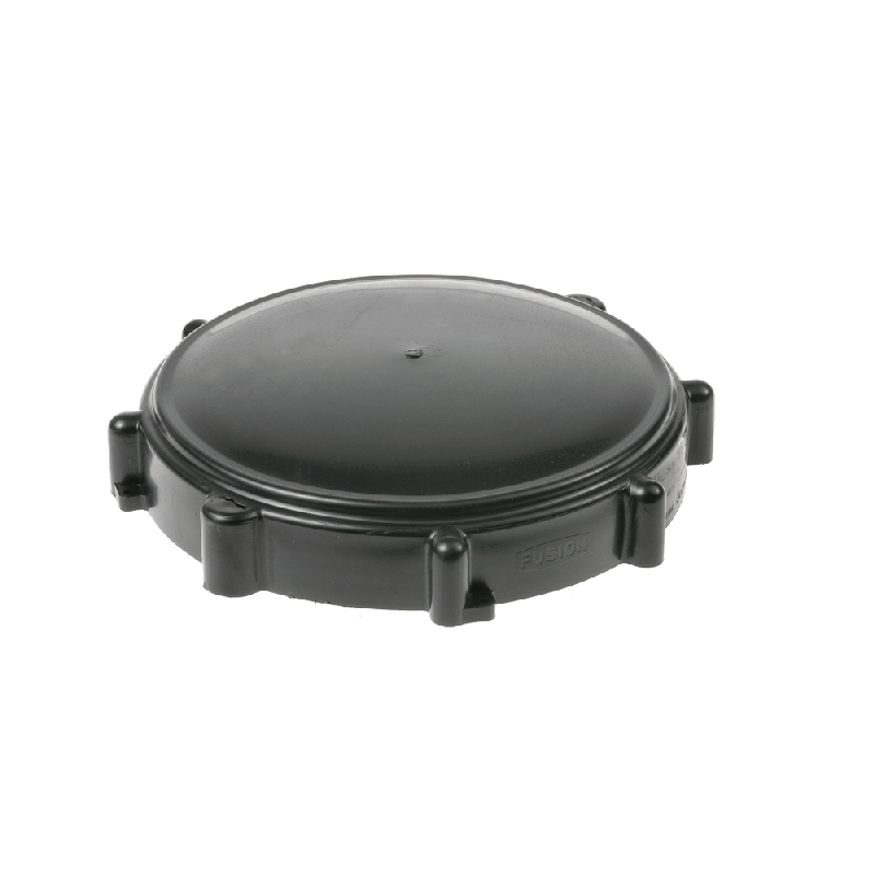 tank lid black 200 -  500 ltr diameter / 160 mm