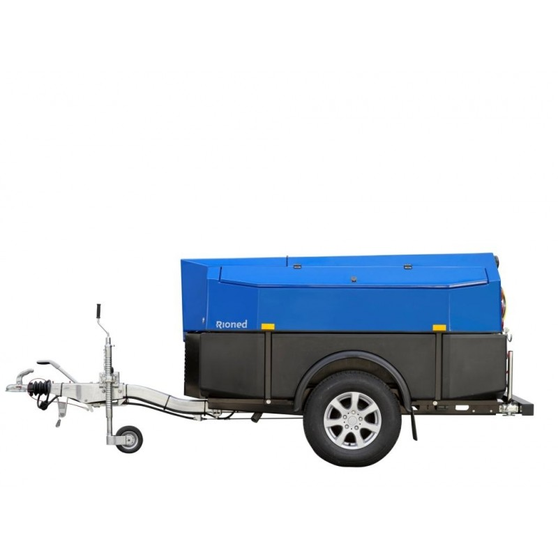 Cable Duct Desilting Trailer Jetter