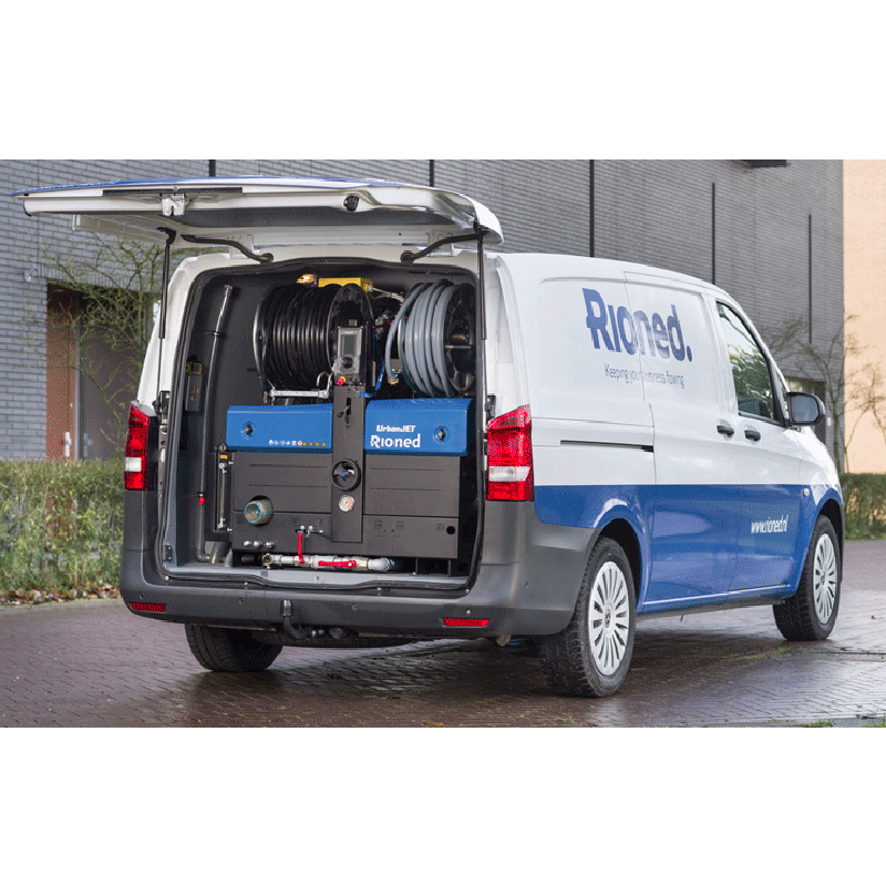 EX-DEMO: UrbanJet Mounted in a Mercedes Vito