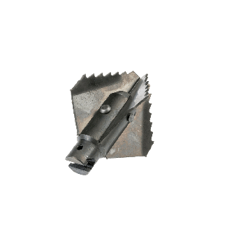 4-blade drill 65 mm for 22 mm spring with universal coupling