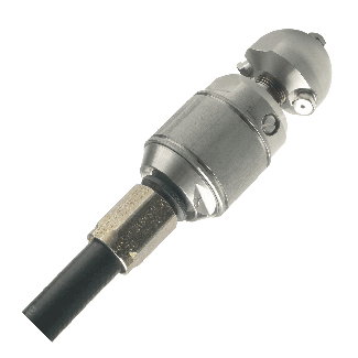 Warthog jetting nozzle small 1/2'' (50-75 lpm) with cutting head