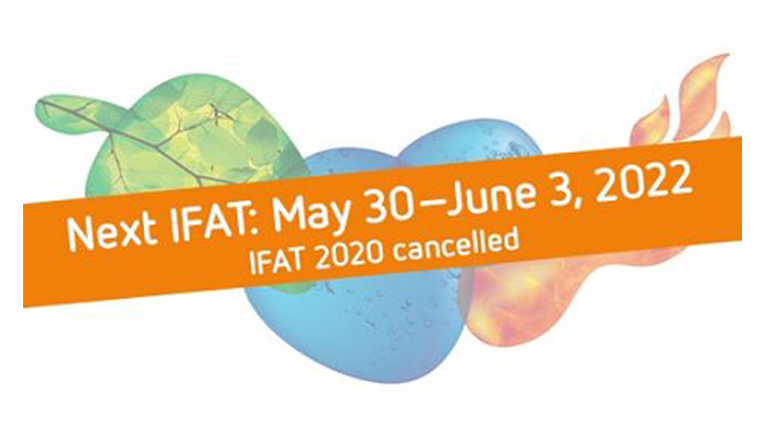 IFAT 2020 is canceled