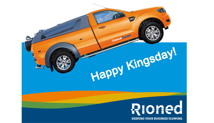 Happy Kingsday (office will be closed)