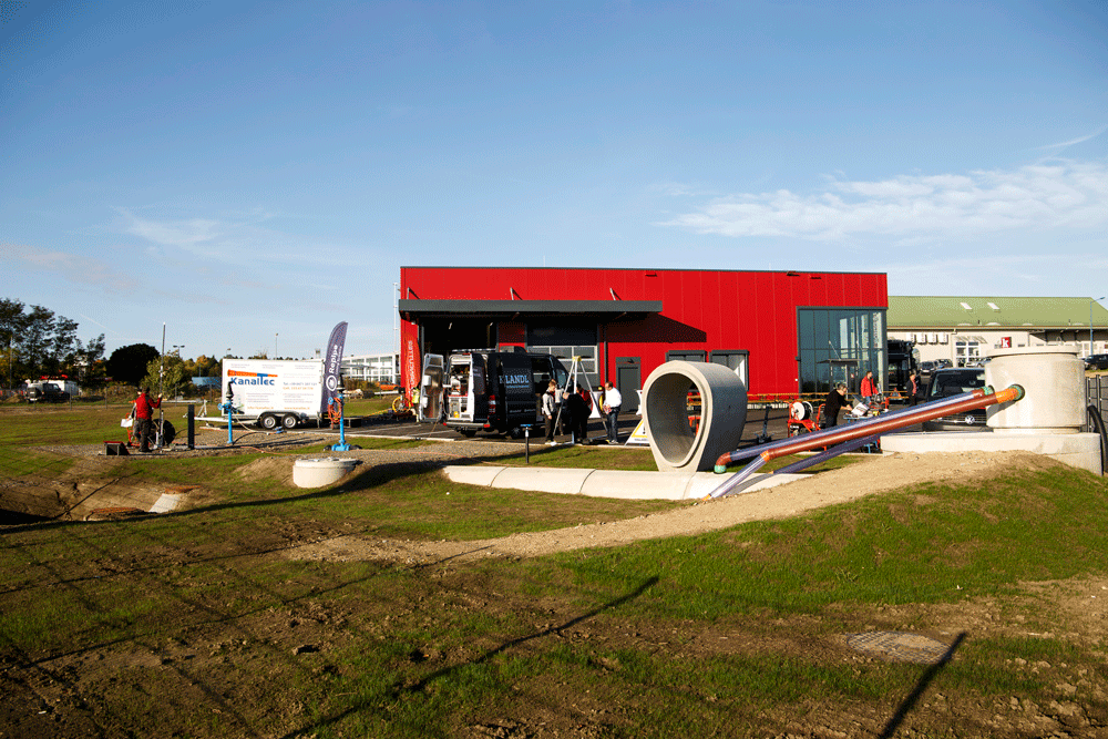 new sewage technology center in Hollabrunn