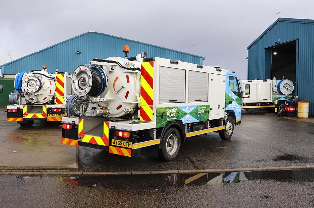 Scottish Water's Highland region took delivery of four 7.5t RioCom units