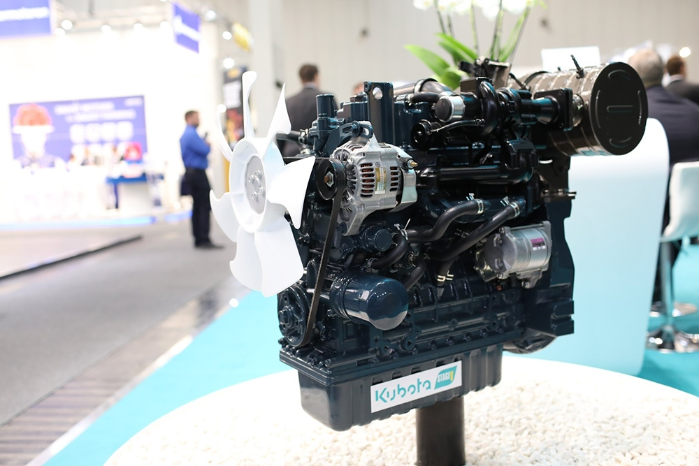 Stage V Engines: New common-rail diesel engines fitted with DPS filters, such as Rioned's CityJet V1505-CR, have recently entered the market.