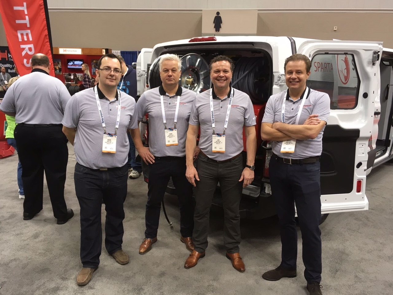 Rioned team at the WWETT show